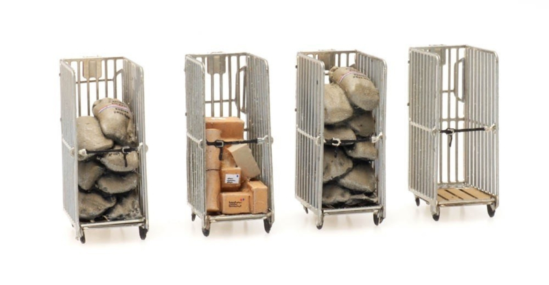 H0 | Artitec 387.446 - PTT rolcontainers