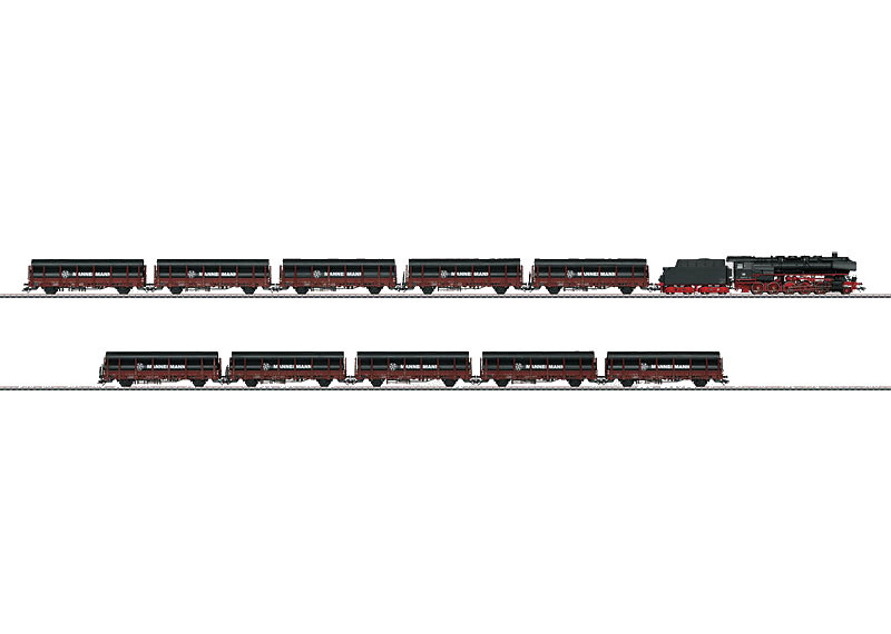 "H0 | Märklin 26558 - ""Steel Pipe"" Heavy Freight Train.(AC sound)"