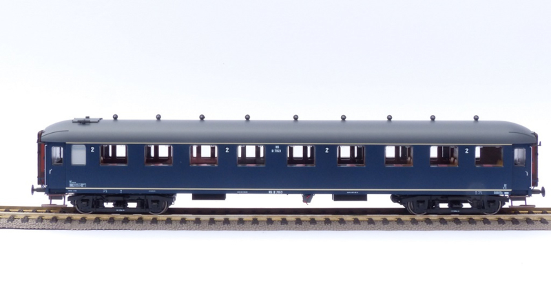 H0   Exact Train EX10016 - NS B7153 Berlijnsblauw