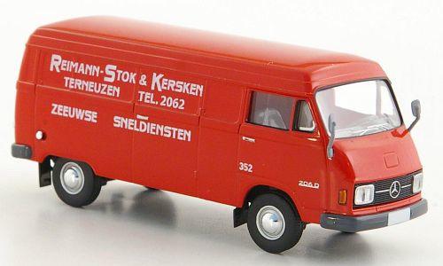 H0 | Brekina Starmada 13317 - Mercedes L 206 D bestelbus, Reimann-Stok & Kersken (NL)