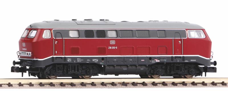 N | Piko 40521 - DB, Diesellokomotive 216 010-9 (Sound)