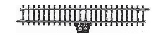 H0 | Märklin 2290 - Aansluitrail recht (K-rail)
