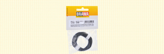 Brawa 32409 - Flexibel Decoderdraad, 0,05 mm², wit