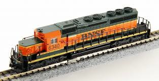 "N | Kato 176-4902 - EMD SD40-2 ""Snoot""/ BNSF6340"