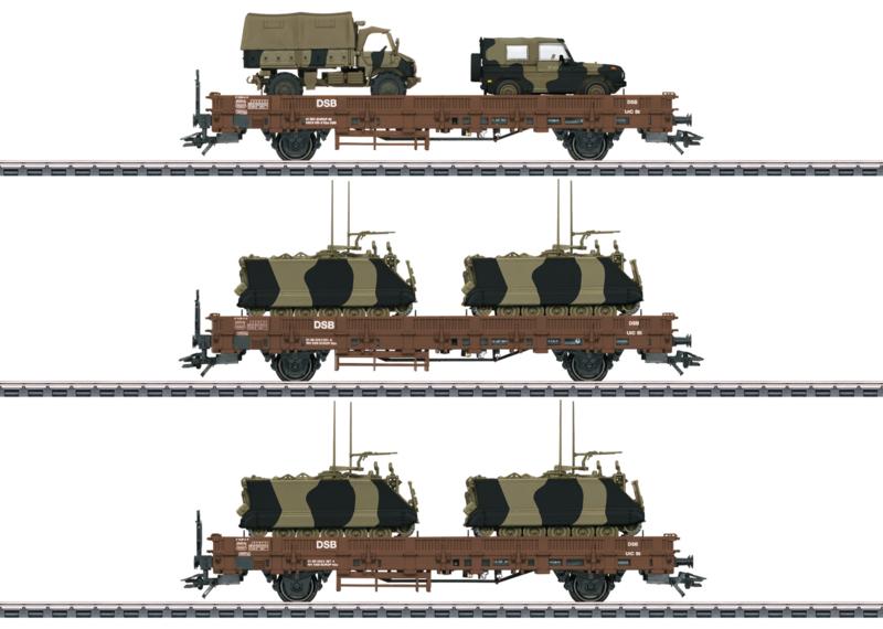 H0 | Märklin 46934 - DSB militair transport