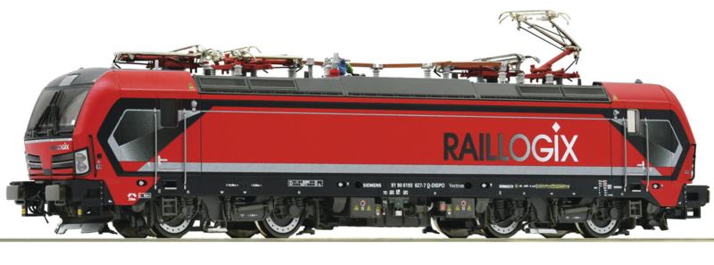 H0 | Roco 73936 - Raillogix, Elektrische locomotief 193 627-7  (DC sound)