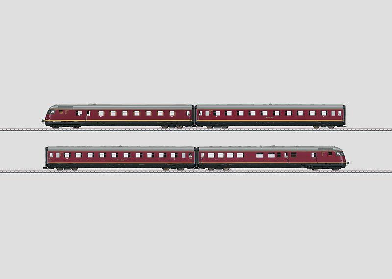 H0   Märklin 39081 - DB Dieseltreinstel VT08.5 (AC sound)