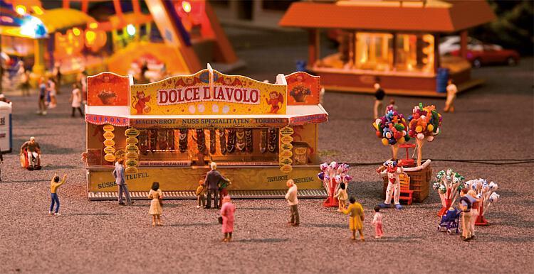 H0 | Faller 140353 - 2 Fairground booths