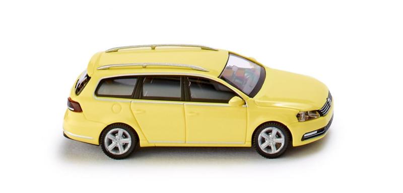 H0   Wiking 008902 - VW Passat B7 Variant , zwavelgeel. (1)