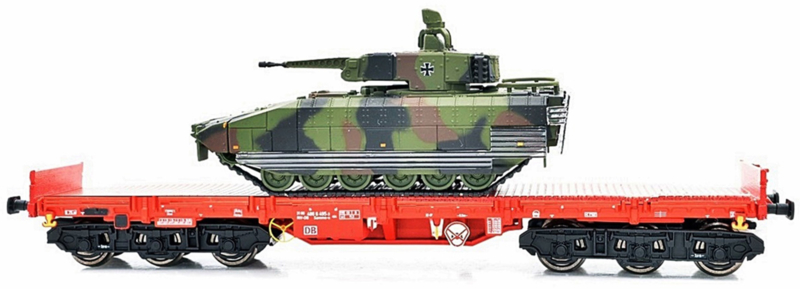H0 | NPE 22134 - DB AG, Salmms-u 454, loaded with tank.