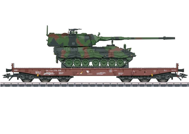 H0 | Märklin 48872 - DB AG, Wagen voor zwaar transport Samms 709