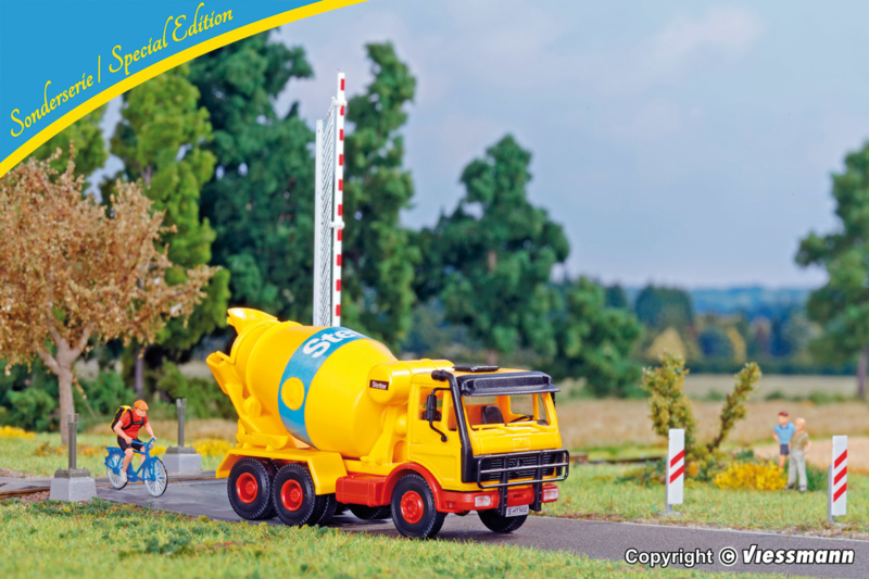 H0 | Kibri 12501 - MB betonmixer 2626 AB (2stuks)