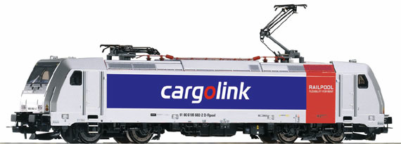 H0 | Piko 59558 - Cargolink, Electric locomotive series 185.2 (DC)
