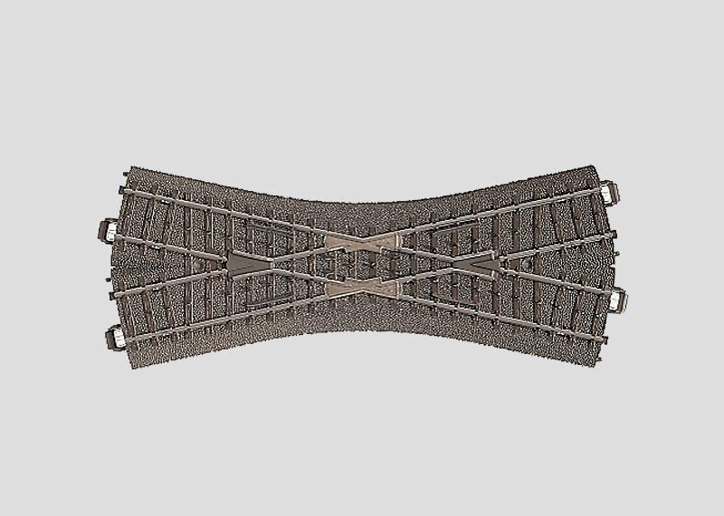 H0 | Märklin 24640 - Kruising 188,3 mm - 24,3Gr (C-rail)