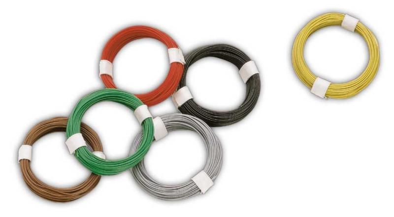 Busch 5790 - Micro kabel rood