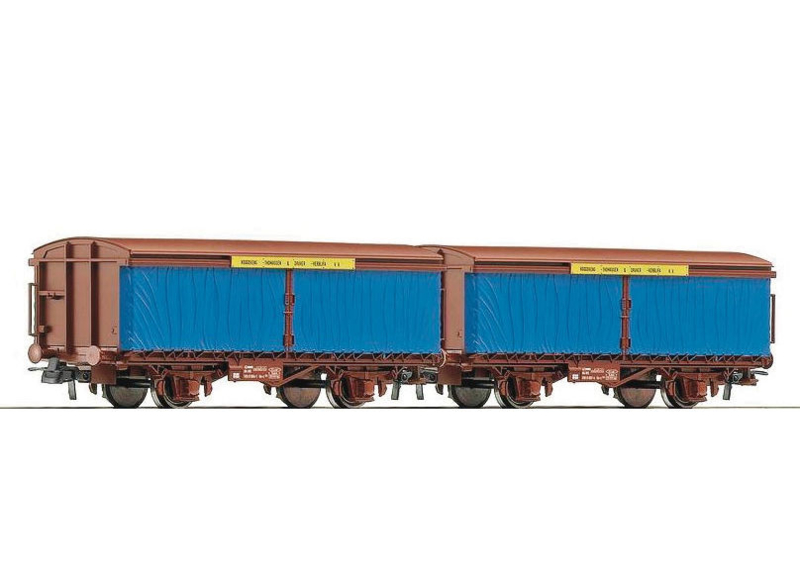 H0 | Roco 66054 - NS staaltransport