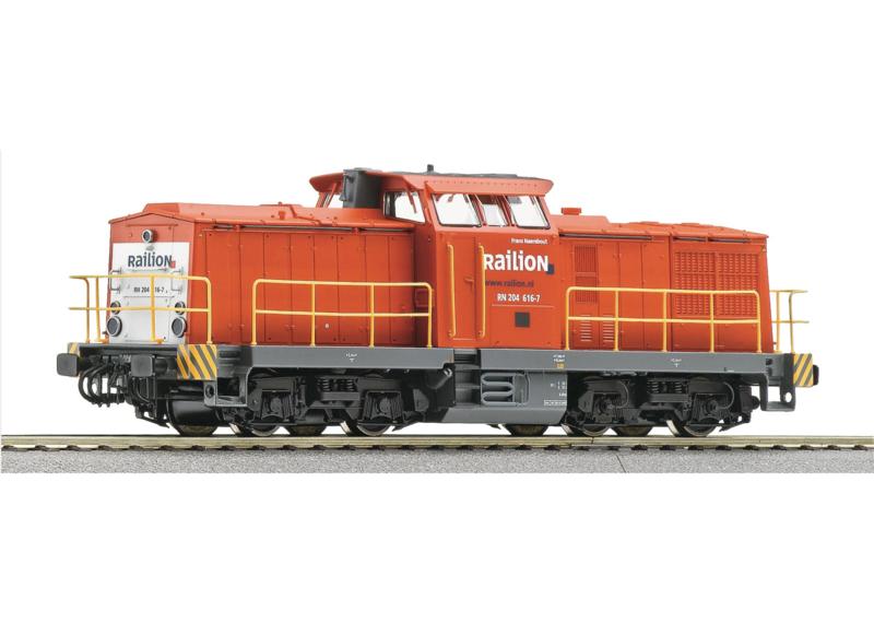 H0 | Roco 62911 - RN 204 Railion (DC digital)