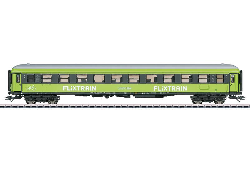 H0   Märklin 42956 - Flixtrain, Sneltreinrijtuig 2e klasse