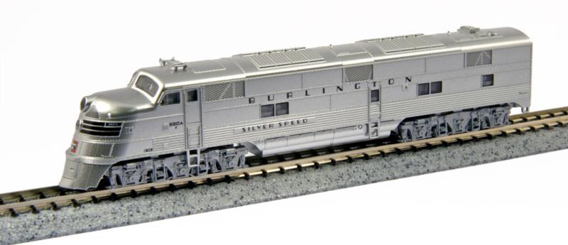 N   Kato 176-5401 - EMD E5A / CB&Q 9910A