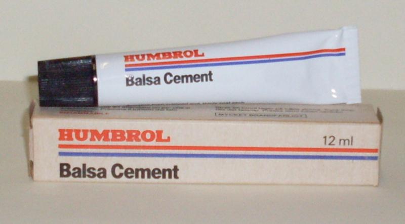 Humbrol - Balsa cement, 12ml