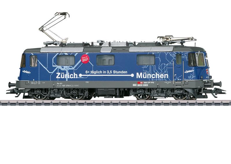 H0   Märklin 37473 - SBB, Elektrische locomotief Re 421.(AC sound)