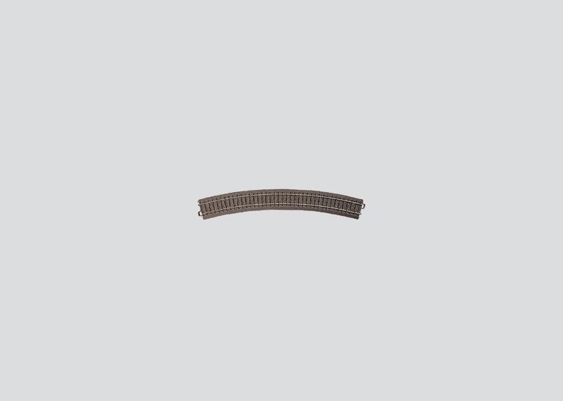 H0   Märklin 24430 - Gebogen railstuk R579,3 mm - 30Gr (C-rail)