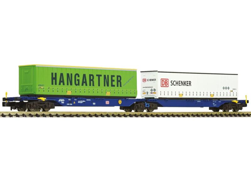 N | Fleischmann 825325 - DB draagwagen Hangartner / DB Schenker