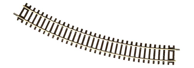 H0   Roco 42424 - Gebogen rail R4, 30°, R=481,2 mm