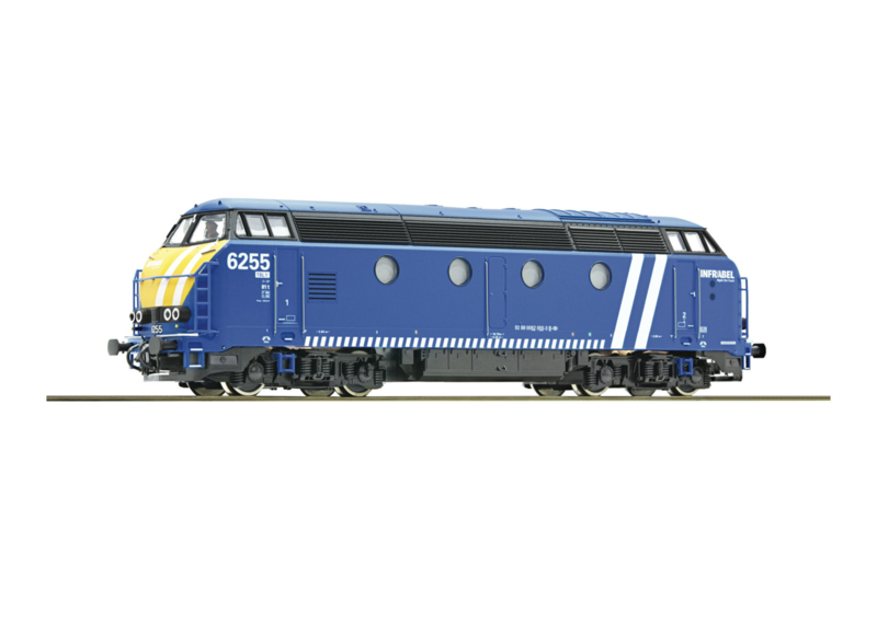 H0 | Roco 72879 - SNCB Reeks 6255 Infrabel (DC)