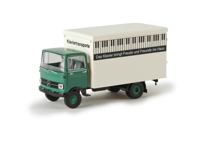 H0 | Brekina 48523 - MB LP 608 Koffer Klaviertransporte
