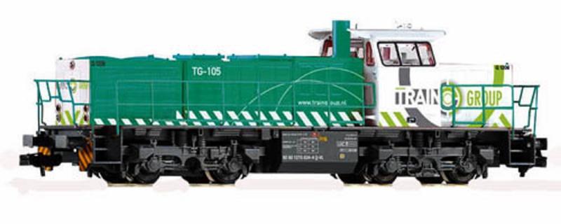 N | Piko 40416 -  Dieselloc G 1206 TG 105 Train Group