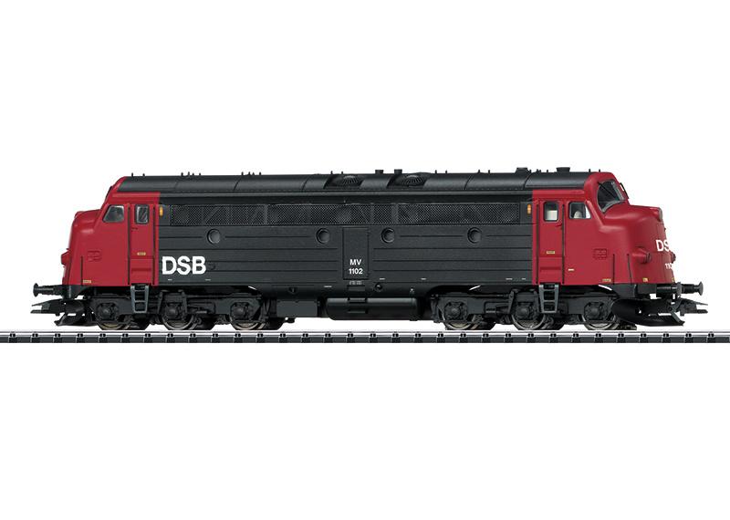 H0   Trix 22677 - DSB, Diesellocomotief MV