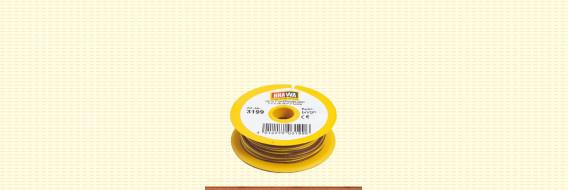 Brawa 3199 - Draad 2 x 0,14 mm², bruin/geel