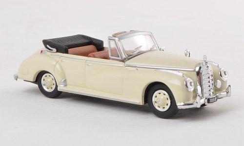 H0 | Ricko 38327 - Mercedes 300c (W186) Cabriolet, beige, 1955