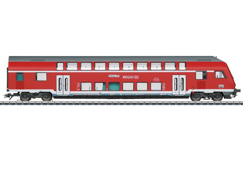 H0   Märklin 43569 - DB AG, Dubbeldeks-stuurstandrijtuig 2e klas