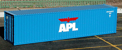 N   De Luxe 20010 - set 40' containers APL / Hi-Cube
