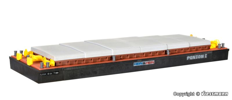 H0 | Kibri 38524 - Duwbak voor stortgoederen of containers