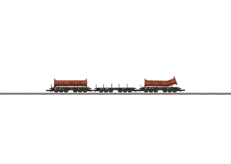 Z | Märklin 82349 - Set wagens voor zware lasten