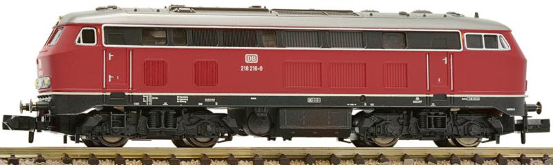 N   Fleischmann 723701 - DB, Diesellocomotief BR 218