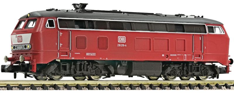 N   Fleischmann 724001 - DB, Diesellocomotief BR 218