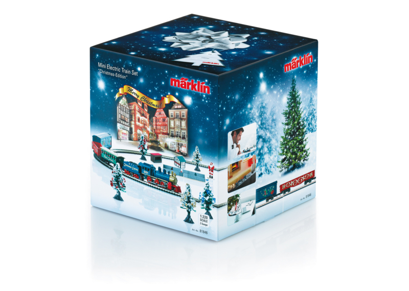 Z   Märklin 81846 -  Christmas Starter Set. 120 Volts. Freight Train with an Oval of Track and the Right Power Pack