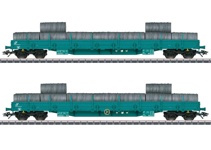 H0 | Märklin 47107 - Trenitalia, Set lageboordwagens Res