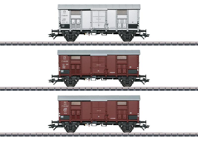 H0 | Märklin 47870 - Set puntdakwagens
