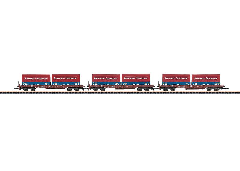 Z | Märklin 82286 - Set draagwagens