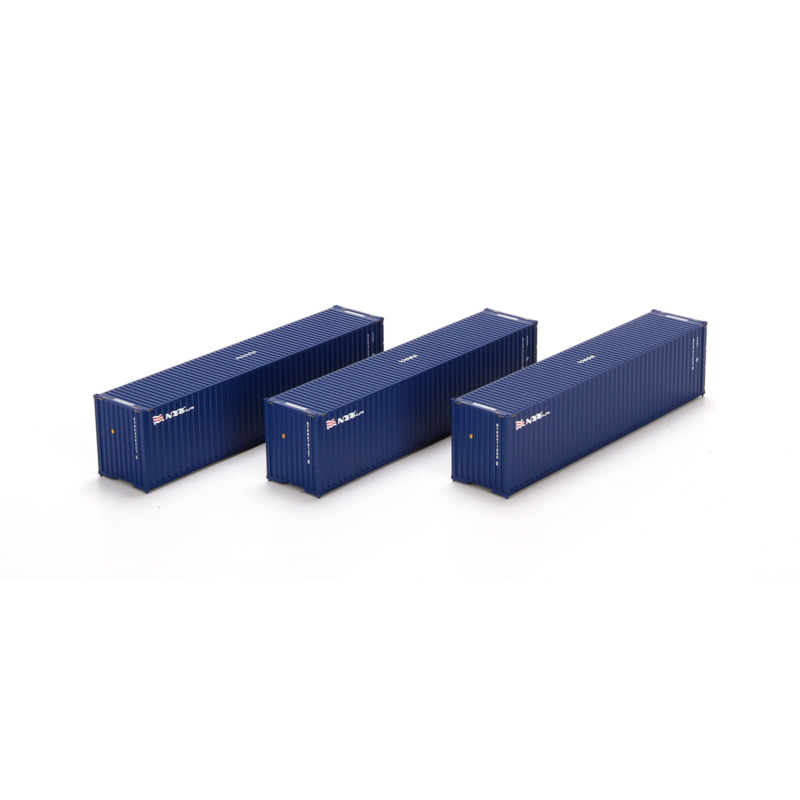 H0 | Athearn ATH29162 - Container 3 Pack 40' – NYK