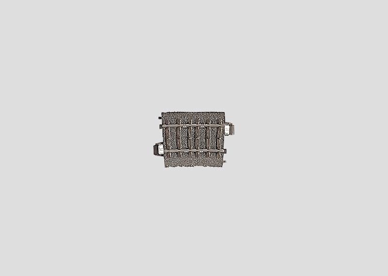 H0 | Märklin 24206 - Gebogen railstuk R437,5 mm - 5,7Gr (C-rail)