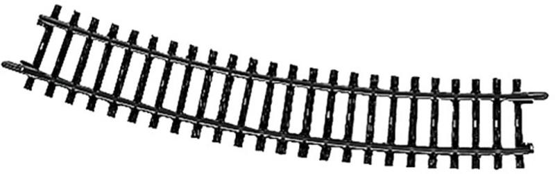 H0   Märklin 2232 - Gebogen railstuk (K-rail)
