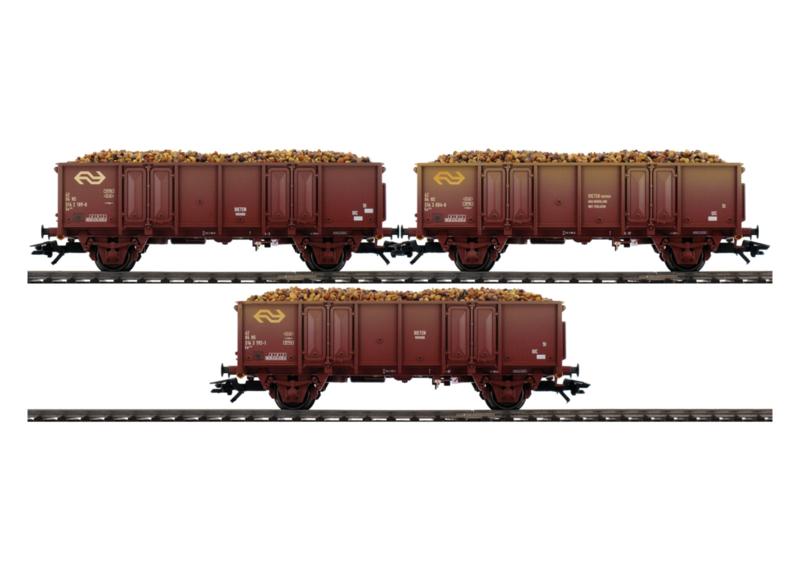 H0 | Märklin 46019 - Set NS bietenwagens