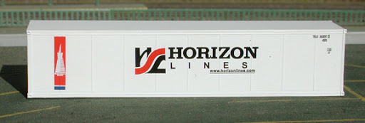 N | De Luxe 4330 - set 40' containers Horizon Lines / refridgerated