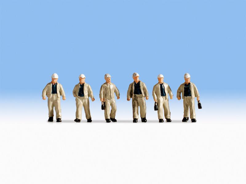 H0   NOCH 15042 - Mijnwerkers